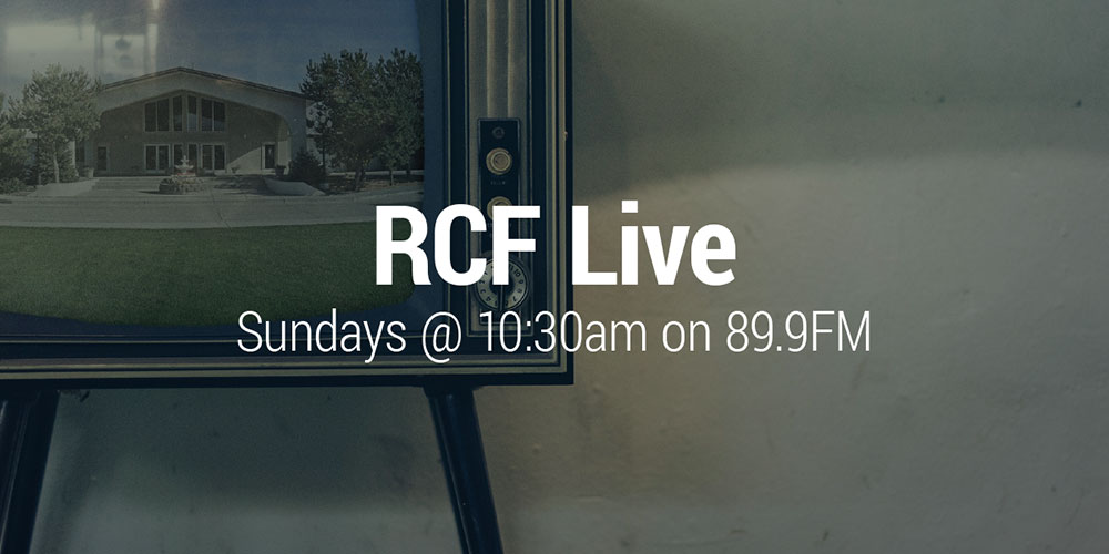 The River Sunday services - Live on the radio in Twin Falls, 89.9 FM